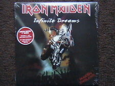 """IRON MAIDEN """"INFINITE DREAMS"""" / """"KILLERS"""" FACTORY SEALED PICTURE SLEEVE  7"""" 45"""