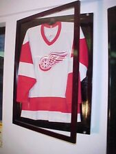 Cherry Jersey Display Case Small  Free Shipping and Hanger