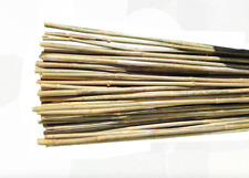 6 feet Garden Plant Vegetable Tomato Support Stake 25 Pack Bamboo Prop Stakes