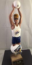 Beer Tap Handle Miller Lite Volleyball Player Beer Tap Handle Figural Tap Handle