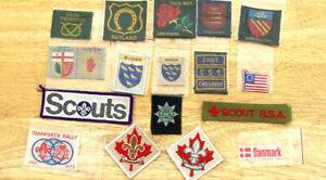 BOY SCOUT BADGES    A REAL MIXED BAG FOR YOU BLANKET