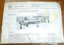 Henschel Hs 132 Version V1 HUMA Modell 1:72 Flugzeug Bausatz ungebaut  å *