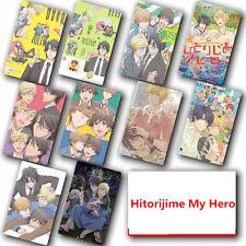 Japanese Anime Hitorijime My Hero 10 pc/set  Card Paster IC Card Sticker