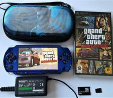 Console Sony PSP 1004 crackée + 1 jeu + sacoche + microSD 2Go