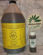 Liquid Guano, Budswel,fertilizer,soil,hydroponics, 4oz bottle, plant nutrients,