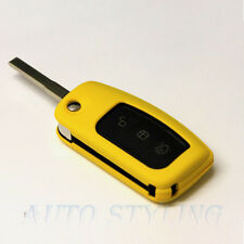 Yellow Key Cover Case for Ford Remote Protector Flip Shell Fob 2 3 Button 43y
