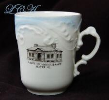 Antique ABBOTT MEMORIAL LIBRARY souvenir DEXTER MAINE Tea Cup