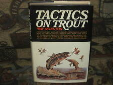 Tactics on Trout by Ray Ovington 1st 1969 Excellent