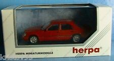 MERCEDES BENZ E320 LIMOUSINE HERPA 1/43 BERLINE ROT NEW