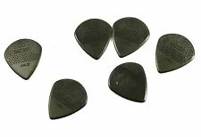 Dunlop Guitar Picks  6 pack  Nylon Max-Grip Jazz III  471P3C  Carbon