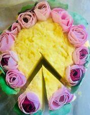 LEMON PEONY Soap Bar/Soap Cake/Artisan/Handmade/Triple Butter/Moisturizing