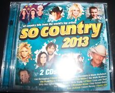 So Country 2013 Various 2 CD (Lee Kernaghan Carrie Underwood Adam Brand) – New