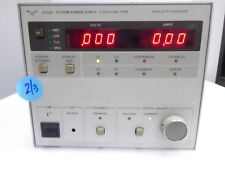 HP 6033A SYSTEM DC POWER SUPPLY 0-20V 0-30A 200 W UNIT 2 OF 3