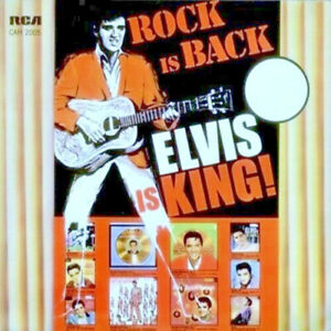 "King ELVIS Presley ""ROCK IS BACK-ELVIS IS KING!"" SOUTH AFRICA ONLY LP Rare! NM/M"