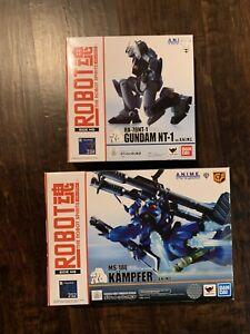 Bandai Robot Spirits Kampher and Alex Gundsm