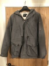 Youths Grey Parka - Asos - Size S