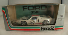 Model Box◊ Ford GT 40 Le Mans 1966 #59 ◊ ref. 8453 ◊  1/43 ◊ made in Italy