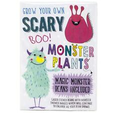 Grow Your Own Magic Monster Beans Laser Engraved Messages Kids Gardening Gift