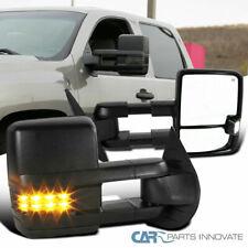 07-13 Silverado Sierra Facelift Energía Calentado Espejos de remolque + LED señal de humo