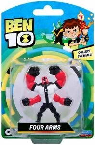 Ben 10 Action Figures - Four Arms 7cms In Size