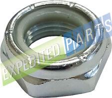 (Qty 10) 5/8-18 Nylon Insert Lock Nuts Nylock Zinc Plated