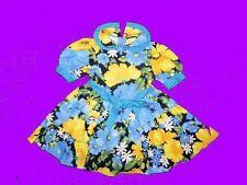 Luxus Sommer Blumen Kleid von ZARA Gr. 104