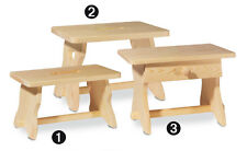 Fußschemel (Nr.2) Holz Fußbank, Fußhocker, Fußschemel, Bänkchen, Hocker, Schemel