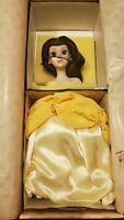 Disney Belle Beauty And The Beast Bell Porcelain Doll Limited Edition