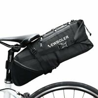 MTB Bike Bicycle Saddle Bag Under Seat Storage Tail Pouch Cycling Rear Pack Bags