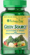 Puritan's Pride Green Source® Multivitamin & Minerals Made In USA