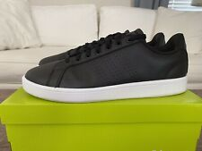 adidas Cloudfoam Black White Men's 13 aw3915 Sneakers