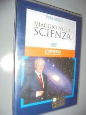 DVD N 1 VIAJE EN CIENCIA PIERO ANGELA LA'UNIVERSO VIAJE NELLO SPAZIO TEMPO
