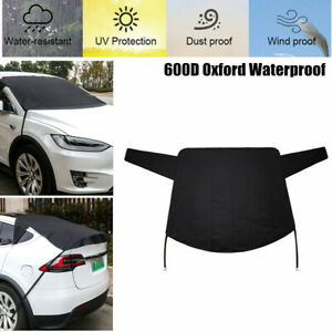 600D Car Windshield Cover Protector Winter Snow Sun Shade DustProof Waterproof