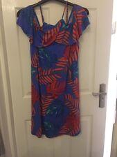 George Ladies Cold Shoulder Dress Size UK  14 / EUR 42
