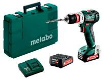 METABO TRAPANO AVVITATORE A BATTERIA POWERMAXX BS 12 BL Q (601039500) +ANGOLO