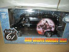 1974 CHEVY VAN HIGHWAY 61 74 CHEVROLET custom van black GRIMM REAPER 1:18 VHTF