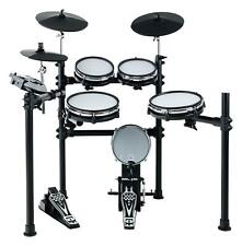 Digital E-Drum Set Elektronisches Schlagzeug Drumkit Rack Mesh Heads USB MIDI