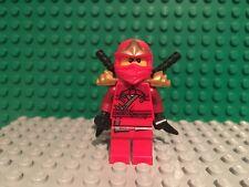Lego Minifigure njo032 Ninja Kai ZX Red 9561 9441 9449    #LX771