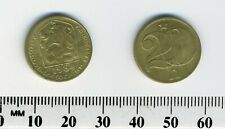 Czechoslovakia 1984 - 20 Haleru Nickel-Brass - Czech lion with socialist shield