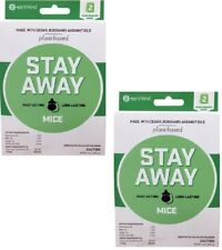 Earthkind Stay Away Long Lasting Plant Based Mice Mouse Repellent 2 Pack - Qty 2