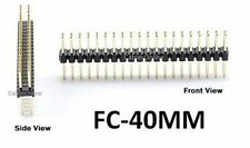 CablesOnline 40-Pin Male/Male IDC 2.54mm Pitch Gender Changer Connector, FC-40MM