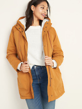 NWT Old Navy Water-Resistant Hooded Faux-Fur-Lined Parka for Women