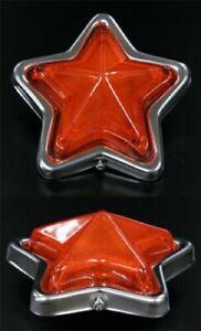 JDM Star Amber Side Marker Indicator Pair