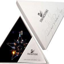 Swarovski 2001 Christmas Star / Snowflake, Mint w box and triangle paper
