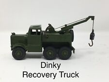 Dinky Recovery Tractor *Truck* Military Green No. 661 Meccano Made in England
