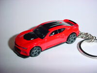 3D RED CHEVROLET CAMARO ZL1 CUSTOM KEYCHAIN KEY keyring race ready BLING!!! 17