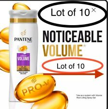 Lot 10 Pantene Pro-V Sheer Volume 2-in-1 Shampoo and Conditioner 12.6 oz.