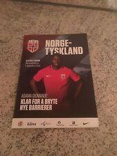 Stadion Magazin Länderspiel Norwegen -Deutschland WM 2018 Qualifikation