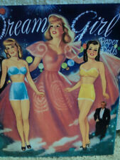 1995 SHACKMAN DREAM GIRLS PAPER DOLL BOOK COMPLETE AND UNCUT!