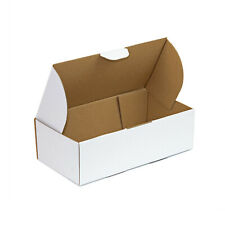 200x Mailing Box 240x125x75mm White Carton for Auspost 500g Small Satchel